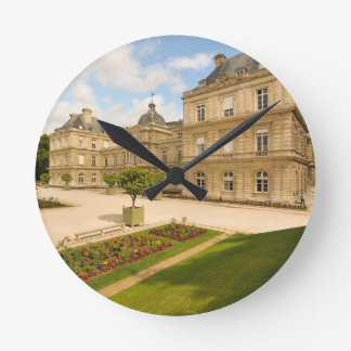 Jardin du Luxembourg in Paris Wallclock