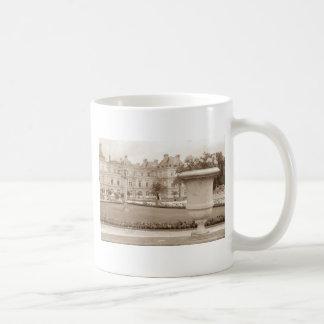 Jardin du Luxembourg, vintage Paris Coffee Mug