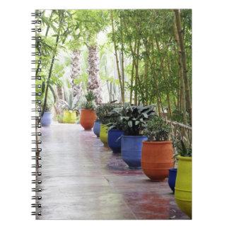 Jardin Majorelle, Majorelle Garden, now a public Notebook