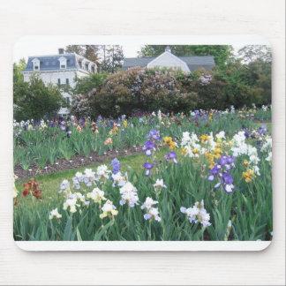 Jardins d'iris tapis de souris