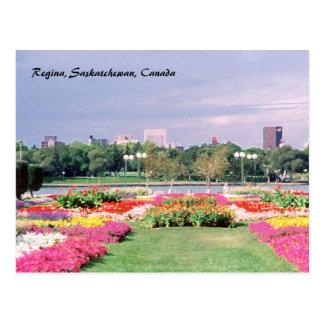 Jardins législatifs peints de Regina Carte Postale