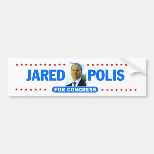 Jared Polis Bumper Sticker
