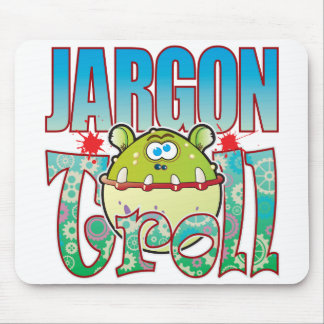 Jargon Troll Mouse Pad