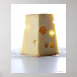 Jarlsberg Cheese Slice Poster