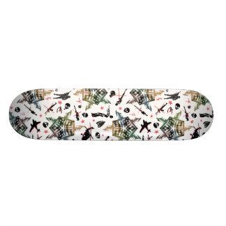 Jarovoj anti war design skateboards