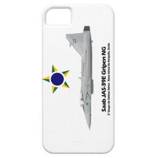 JAS-39E Gripen NG Profile Brazilian Air Force iPhone 5 Cases