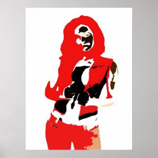 Jasen Sousa Fancy Girl Poster