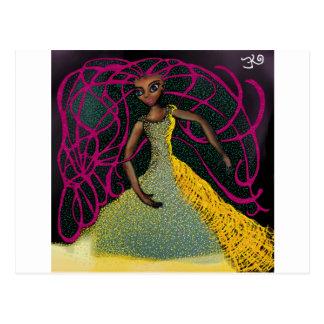 Jasmin in Saffron Postcard
