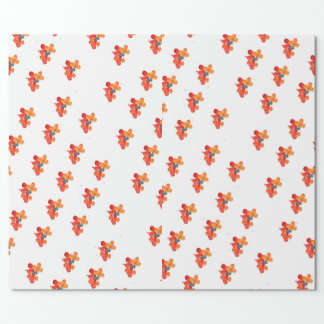 Jasmine And Butterfly Wrapping Paper