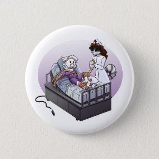 Jasmine and Quinn: Nurse!  Nurse! 2 Inch Round Button