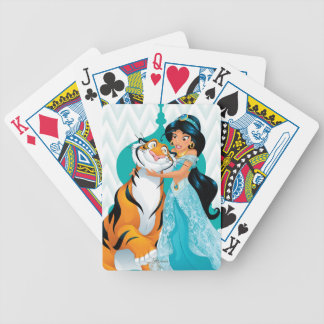 Jasmine and Rajah Bicycle Playing Cards