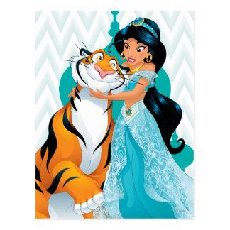 Jasmine and Rajah Postcard