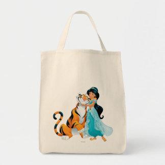 Jasmine and Rajah Tote Bag