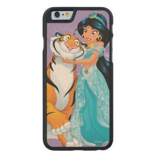 Jasmine | Besties Rule Carved Maple iPhone 6 Case