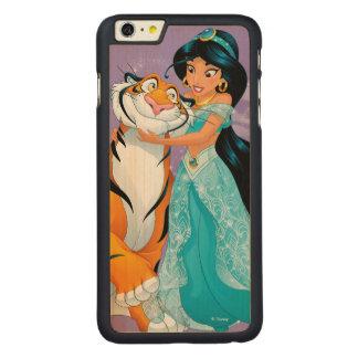 Jasmine | Besties Rule Carved Maple iPhone 6 Plus Case