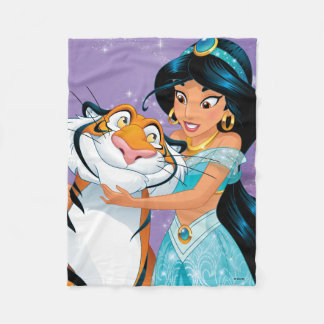 Jasmine | Besties Rule Fleece Blanket