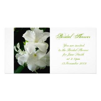 Jasmine - Bridal Shower Invitation Photo Card Template