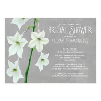 Jasmine Bridal Shower Invitations