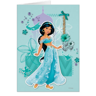 Jasmine - Courageous Greeting Card