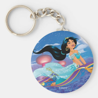 Jasmine | Dream Big Basic Round Button Keychain