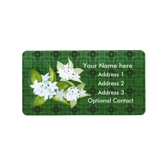 Jasmine Flowers Customizable