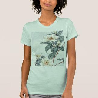 Jasmine Flowers (Vintage Japanese Art) Tshirts