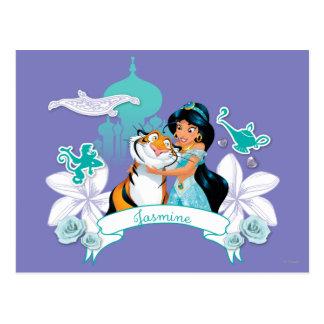 Jasmine - Gentle and Graceful Postcard