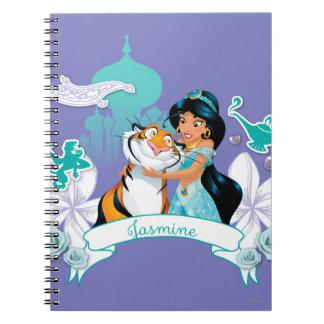 Jasmine - Gentle and Graceful Spiral Notebook