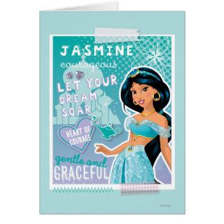 Jasmine - Let Your Dreams Soar Card