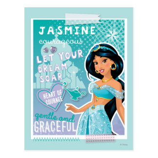 Jasmine - Let Your Dreams Soar Postcard