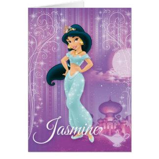 Jasmine Princess Greeting Card
