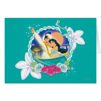 Jasmine - Ready for Adventure! Greeting Card