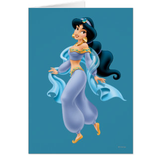 Jasmine Standing Greeting Card
