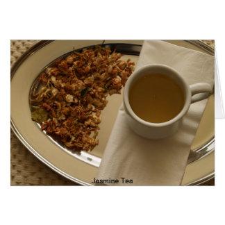 Jasmine Tea Greeting Card