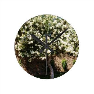 Jasmine Tree In Bloom Wallclocks