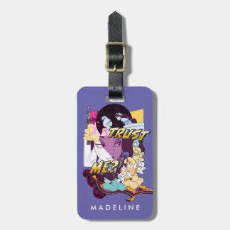 Jasmine   Trust Me Luggage Tag