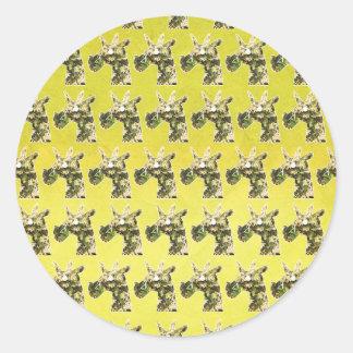 Jasmine Unicorn Classic Round Sticker