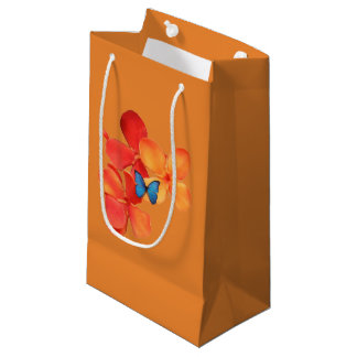 Jasmines and Butterfly Small Gift Bag