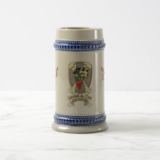 jason and the kruegers get you hammered beer stein