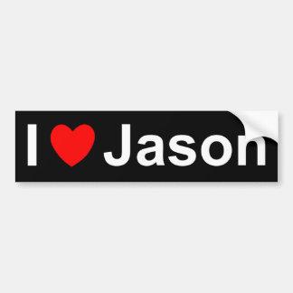 Jason Bumper Sticker