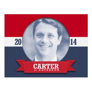 JASON CARTER CAMPAIGN POSTCARDS