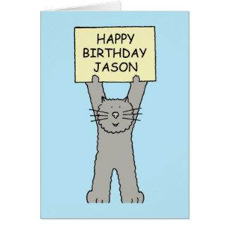 Jason Happy Birthday Card