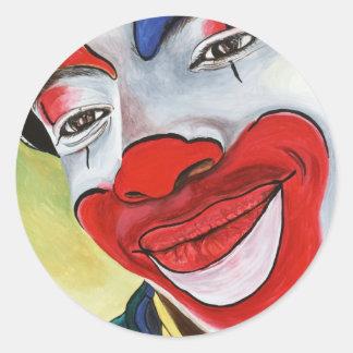 Jason the Clown Classic Round Sticker