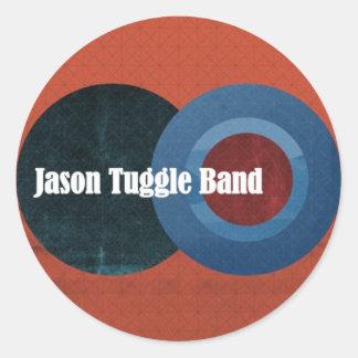 Jason Tuggle Band Circles Sticker