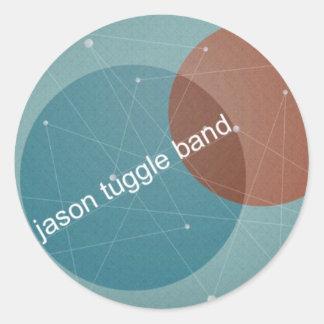 Jason Tuggle Band dots Sticker