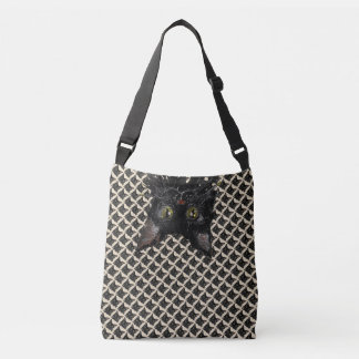 Jasper, Black Cat Crossbody Bag