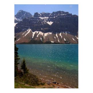 Jasper Canada Lakes Mountains Postcard