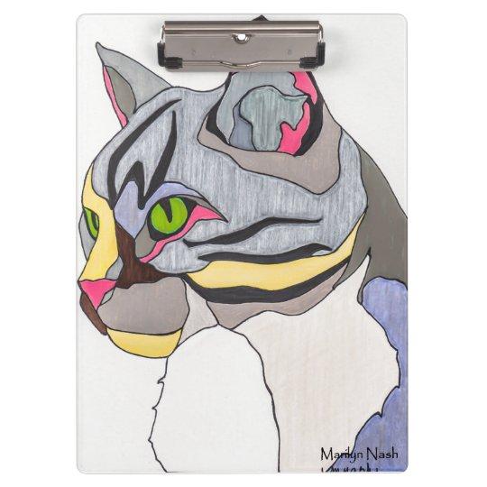 Jasper Cat Clip Board