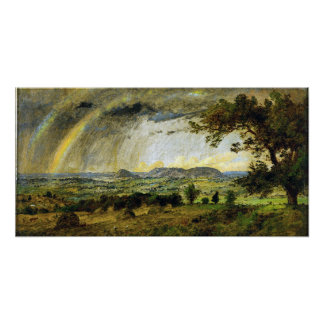 Jasper Francis Cropsey A Passing Shower Poster