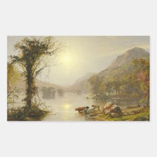Jasper Francis Cropsey - Autumn on Greenwood Lake Sticker